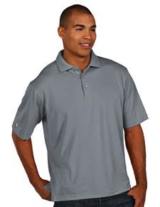 104257-011 - Pique Xtra Lite Tall Grey Heather (Mens Shirts Polo)