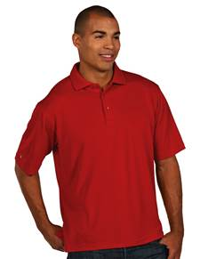 104257-022 - Pique Xtra Lite Tall Dark Red (Mens Shirts Polo)