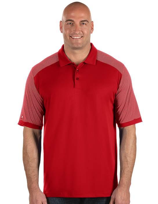 104258-352 - Engage Tall Dark Red/White (Mens Shirts Polo)