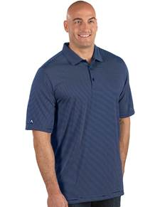 104259-181 - Quest Tall Navy/White (Mens Shirts Polo)