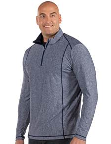 104260-041 - Tempo Tall Navy Heather (Mens Outerwear Pullover)