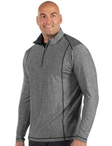 104260-070 - Tempo Tall Smoke Heather (Mens Outerwear Pullover)