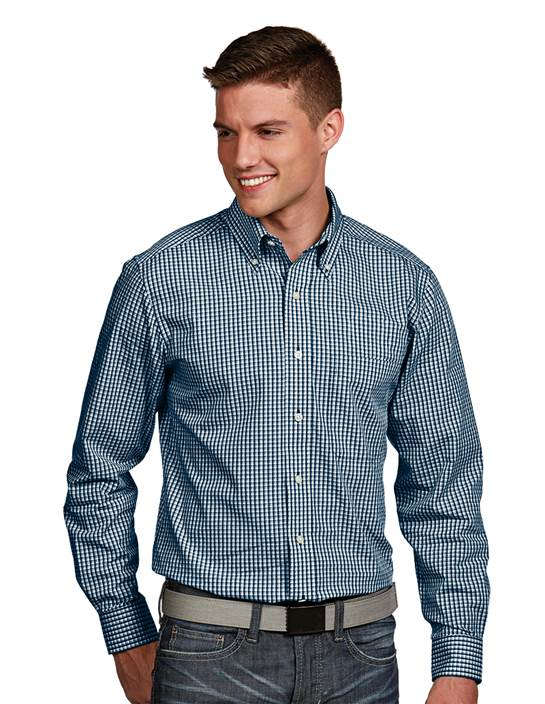 104262-658 - Associate Tall Navy Multi (Mens Shirts DressShirt)