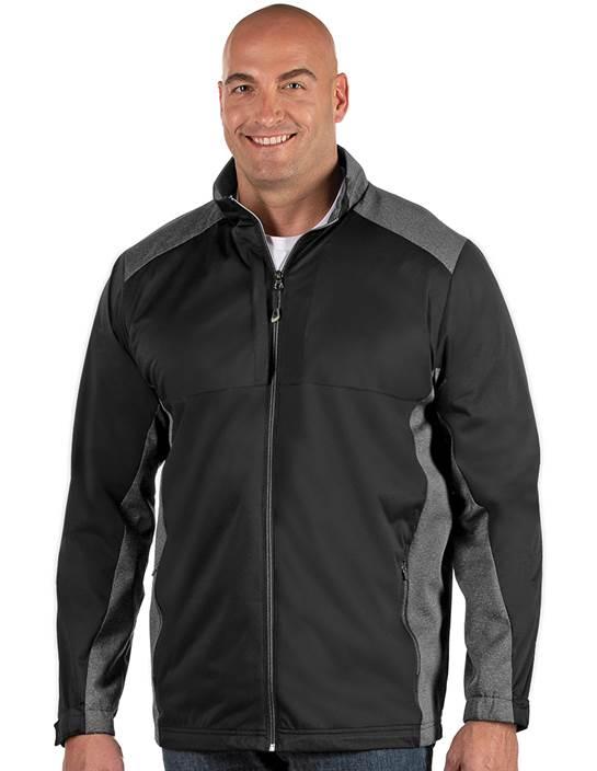 104263-258 - Revolve Tall Black/Black Heather (Mens Outerwear Jacket)