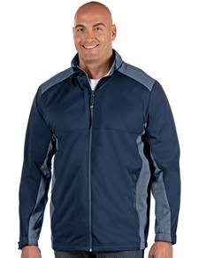 104263-301 - Revolve Tall Navy/Navy Heather (Mens Outerwear Jacket)