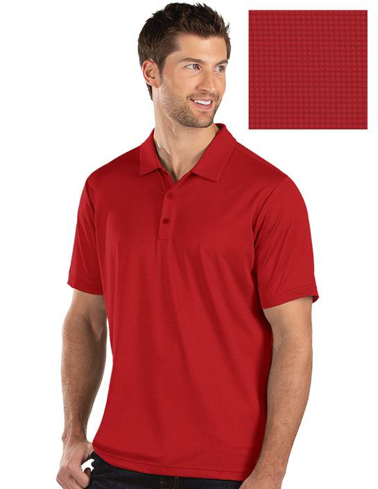 104269-662 - Balance Dark Red Multi (Mens Shirts Polo)