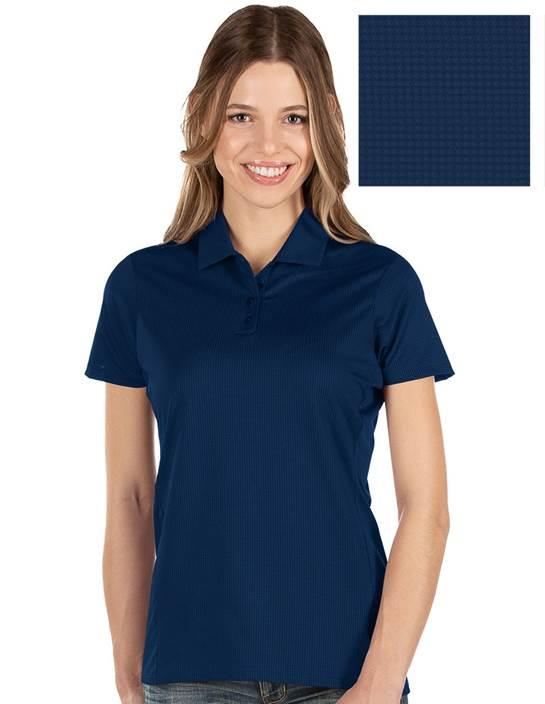 104273-658 - W's Balance Navy Multi (Womens Shirts Polo)
