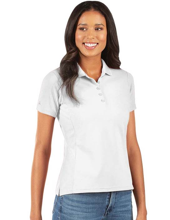 104275 - Legacy Women's White (Women's Shirts Polo)