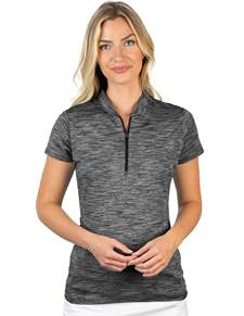 104305-201 - W's Payson Black Multi (Womens Shirts Polo)