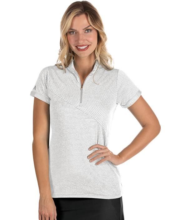 104306-75F - W's Plaza Cinder Heather Multi (Womens Shirts Polo)