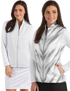 104312-226 - W's Imagine White/Black Multi (Womens Outerwear Vest)