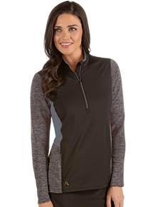 104313-87F - W's Paradox Black/Dark Cinder Multi (Womens Outerwear Pullover)