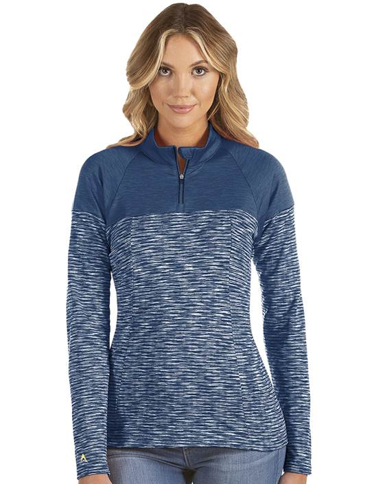 104314-031 - W's Luna Navy Heather Multi (Womens Outerwear Pullover)