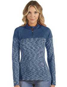 104314-031 - W's Luna Navy Heather Multi (Womens Outerwear Pullover)
