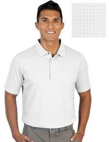 104318-001 - Grit White (Mens Shirts Polo)