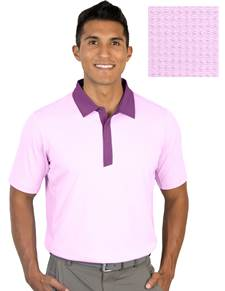 104318-69F - Grit Pulm Multi (Mens Shirts Polo)