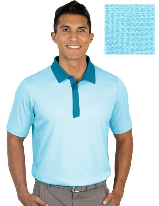 104318-70F - Grit Aegean Multi (Mens Shirts Polo)