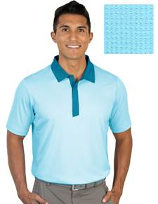 104318-70F - Grit Aegean Multi (Mens Shirts Polo)