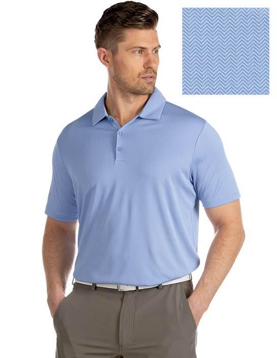 104319-72F - Bevel Denim Multi (Mens Shirts Polo)