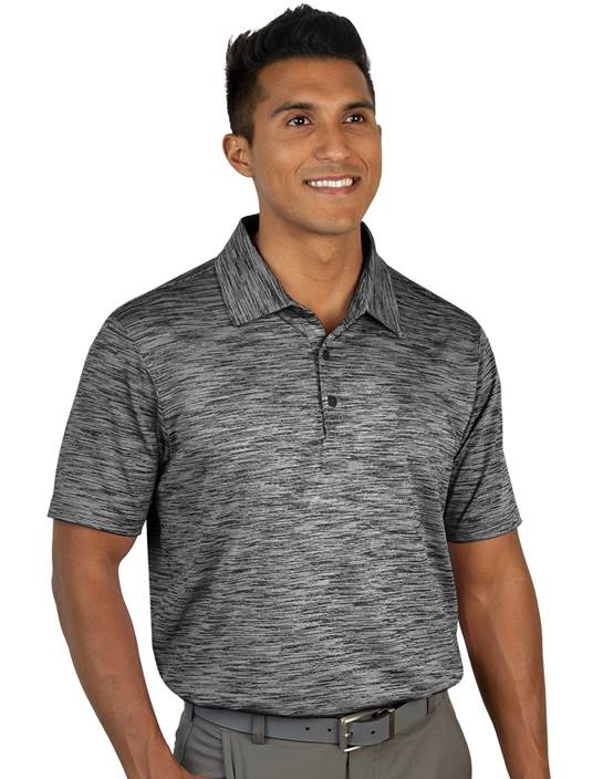 104320-201 - Payson Black Multi (Mens Shirts Polo)
