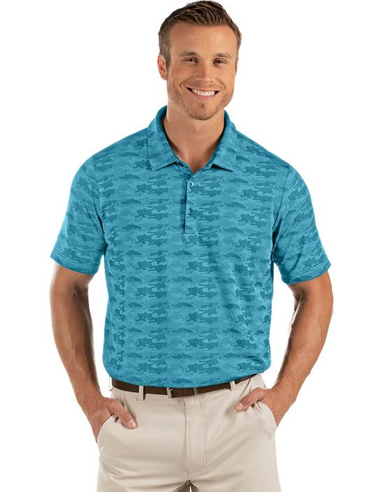 104321-70F - Commander Aegean Multi (Mens Shirts Polo)