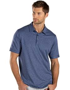 104322-031 - Plaza Navy Heather Multi (Mens Shirts Polo)