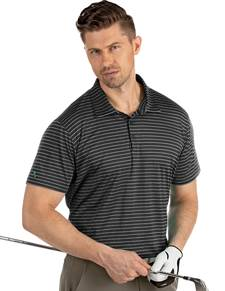 104326-201 - Agile Black Multi (Mens Shirts Polo)