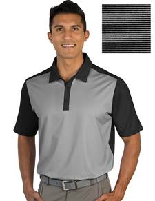 104327-185 - Restore Black/White (Mens Shirts Polo)