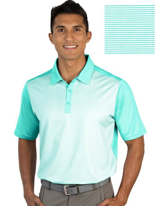 104327-31G - Restore Patina/White (Mens Shirts Polo)