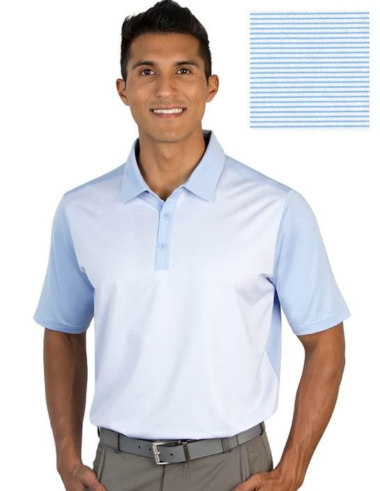 104327-32G - Restore Denim/White (Mens Shirts Polo)