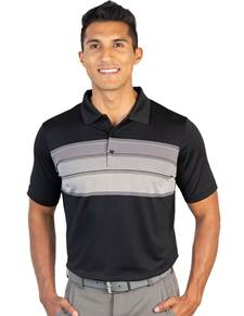 104328-201 - Ravine Black Multi (Mens Shirts Polo)