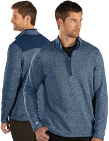 104333-031 - Clover Navy Heather Multi (Mens Outerwear Pullover)