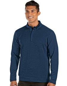 104336-82G - Analog Navy/Dark Denim Heather (Mens Outerwear Pullover)