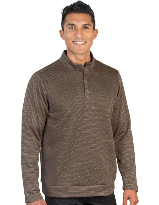104336-85G - Analog Dark Brindle Heather Multi (Mens Outerwear Pullover)