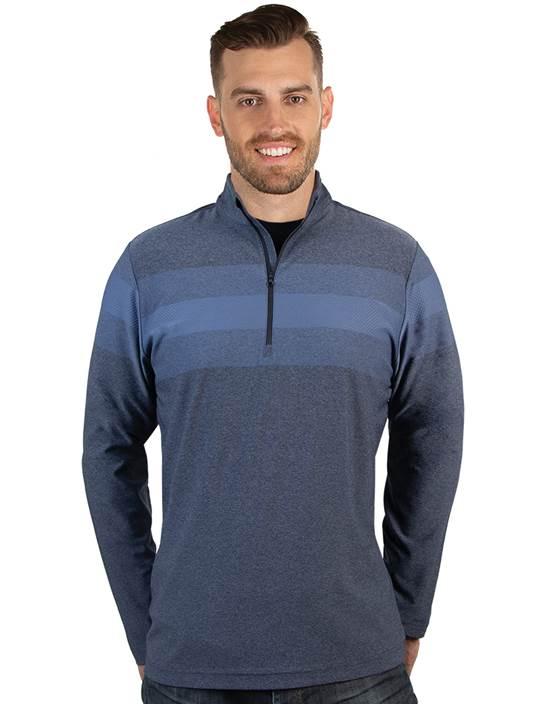 104338-94G - Roam Dark Denim Heather Multi (Mens Shirts Polo)