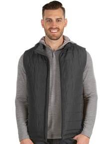 104339-076 - Atlantic Vest Smoke (Mens Outerwear Vest)