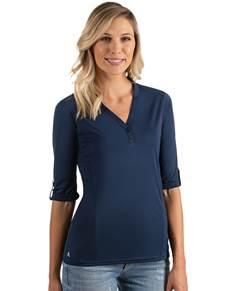 104343-005 - W's Accolade Navy (Womens Shirts Polo)