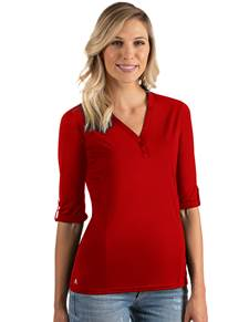 104343-022 - W's Accolade Dark Red (Womens Shirts Polo)