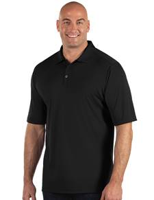 104368-010 - Tribute Tall Black (Mens Shirts Polo)