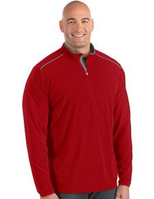 104370-64E - Glacier Tall Dark Red/Carbon (Mens Outerwear Pullover)