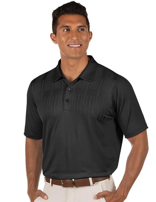 104379-201 - Pursue Black Multi (Mens Shirts Polo)