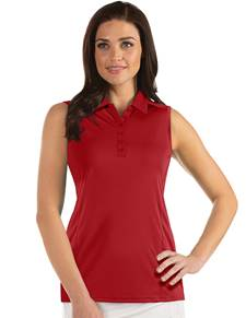 104411-022 - W's Sl Tribute Dark Red (Womens Shirts Polo)