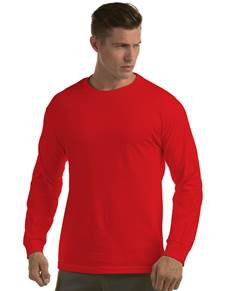 311104 - Long Sleeve Crew Red (Mens Shirts Tee)