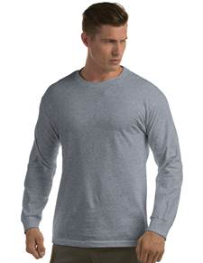 311104 - Long Sleeve Crew Grey Heather (Mens Shirts Tee)